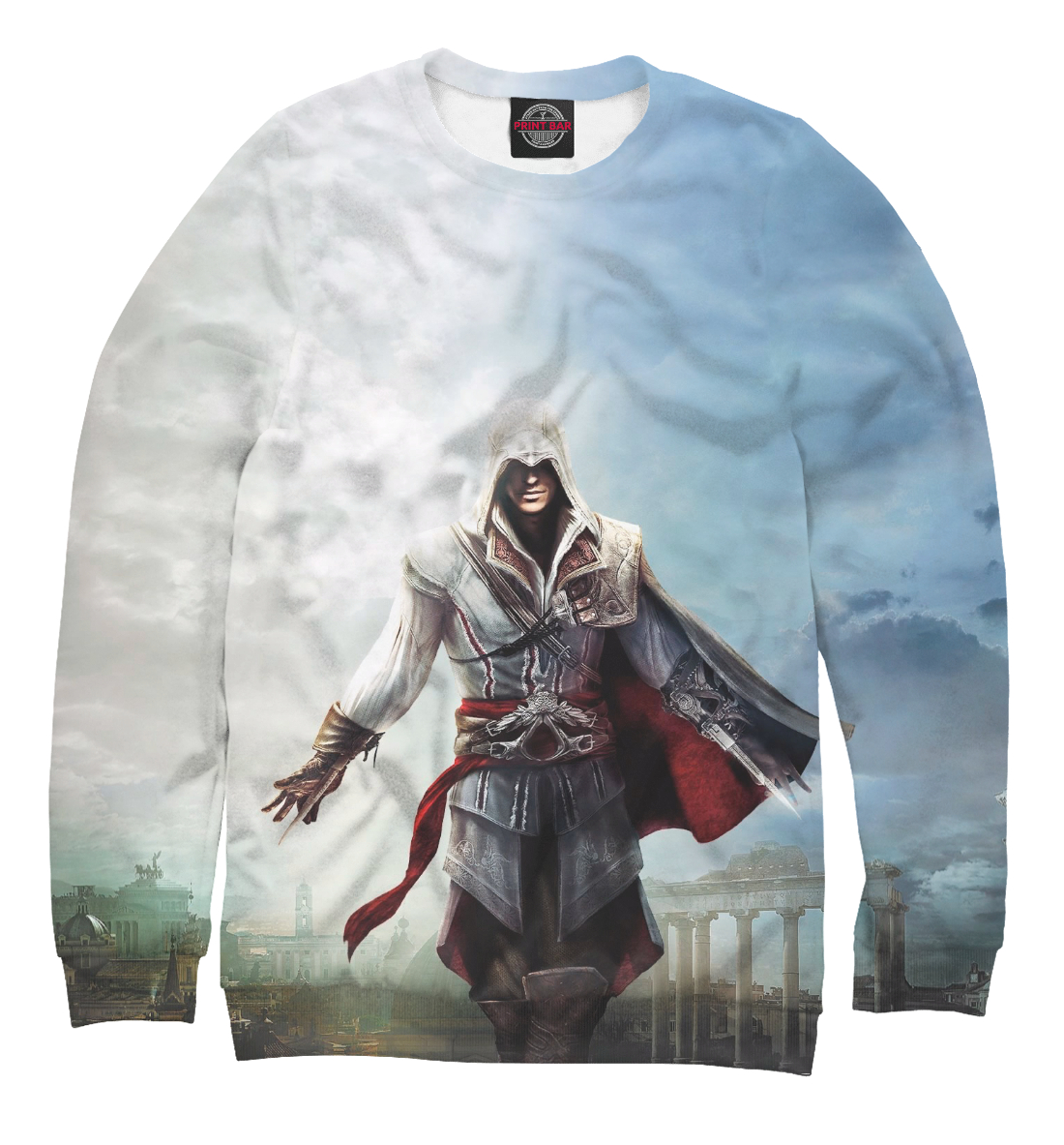 Купить Assassin's Creed Ezio Collection, Printbar, Свитшоты, RPG-324153-swi-2
