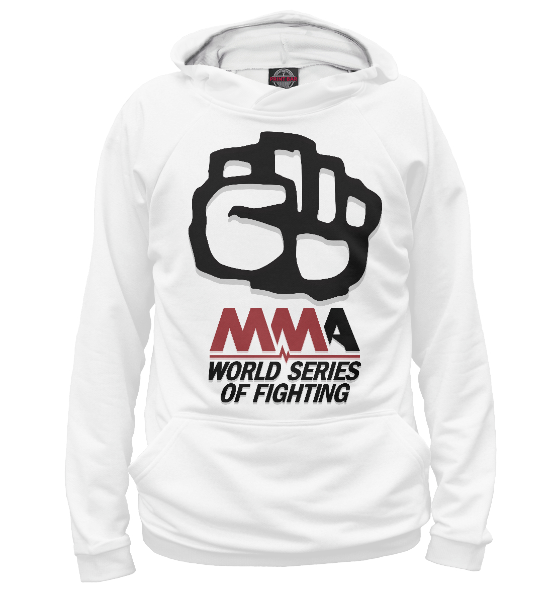 Купить MMA World Series Of Fighting, Printbar, Худи, MNU-538040-hud-2