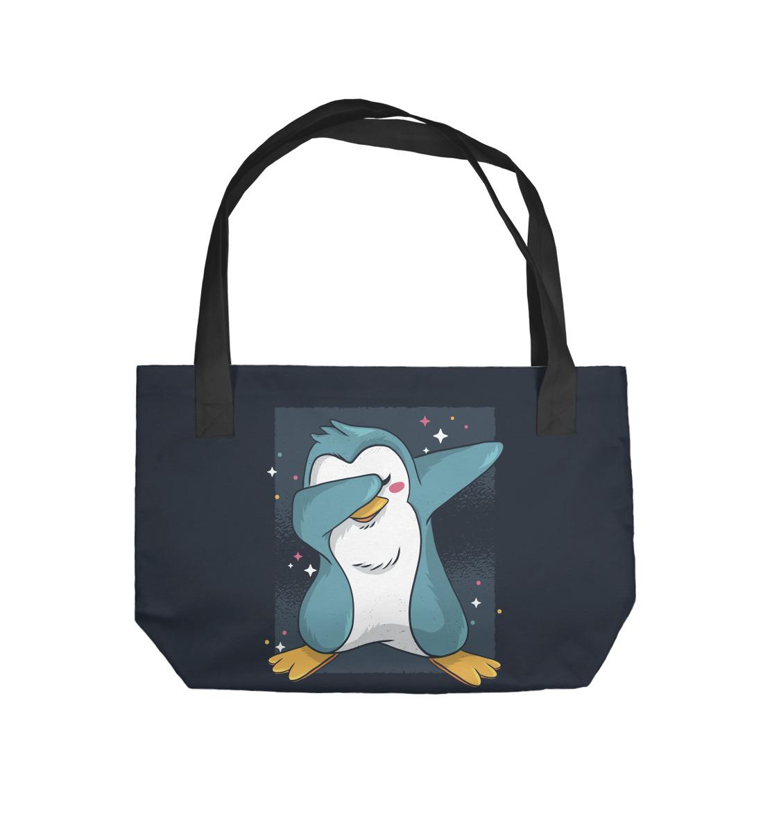 Penguin dabbing penguin