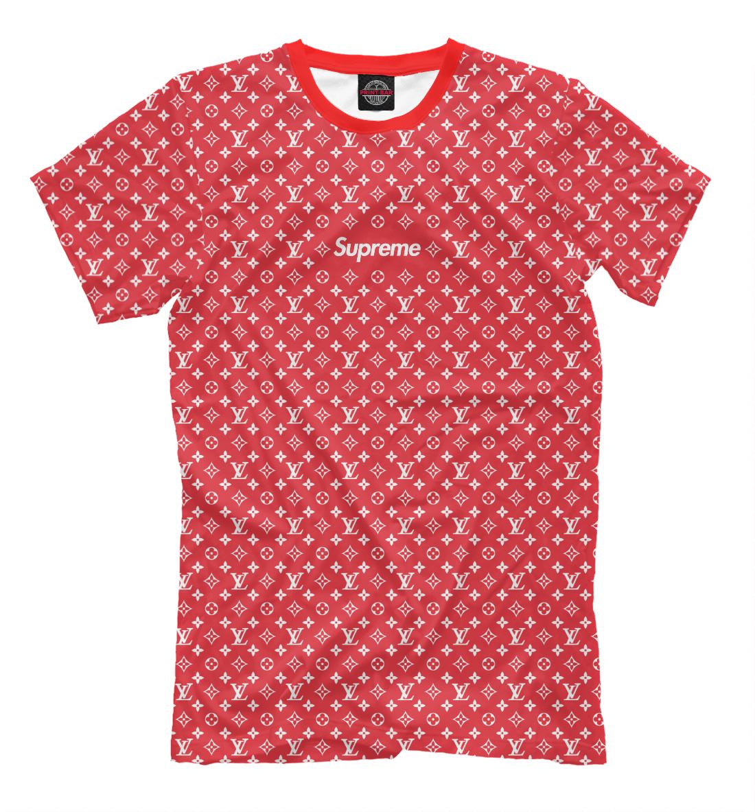 Купить SUPREME Louis Vuitton, Printbar, Футболки, SPR-739701-fut-2