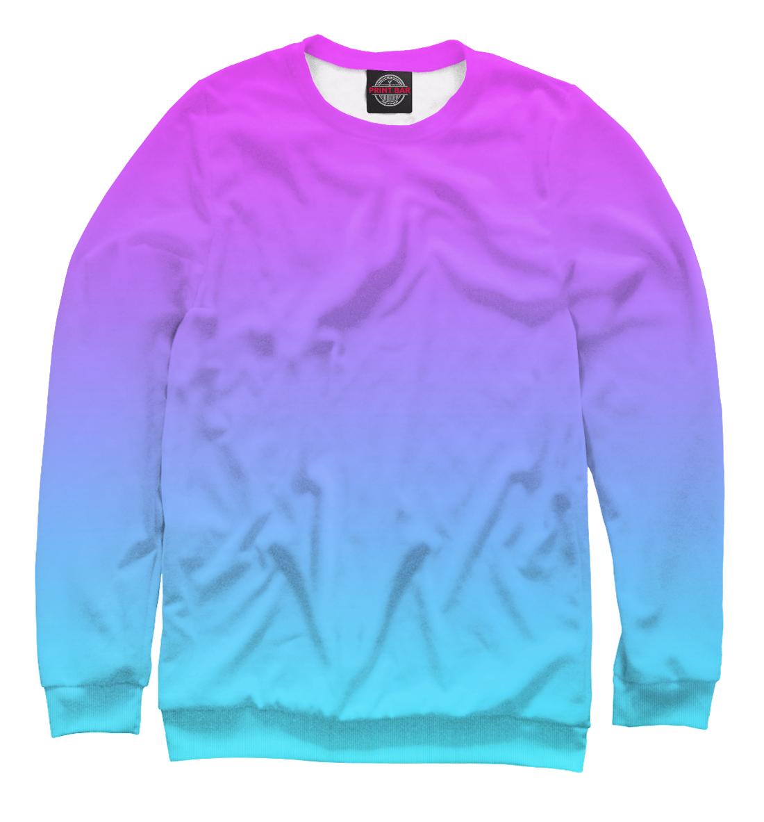 Купить Градиент: Розовый в Голубой, Printbar, Свитшоты, CLR-401097-swi-2