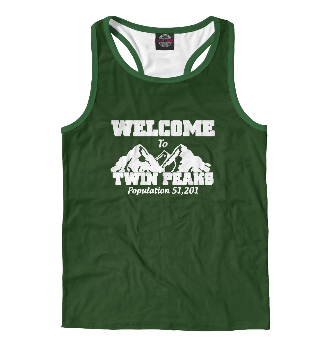 Купить Welcome to Twin Peaks, Printbar, Майки борцовки, SOT-688386-mayb-2