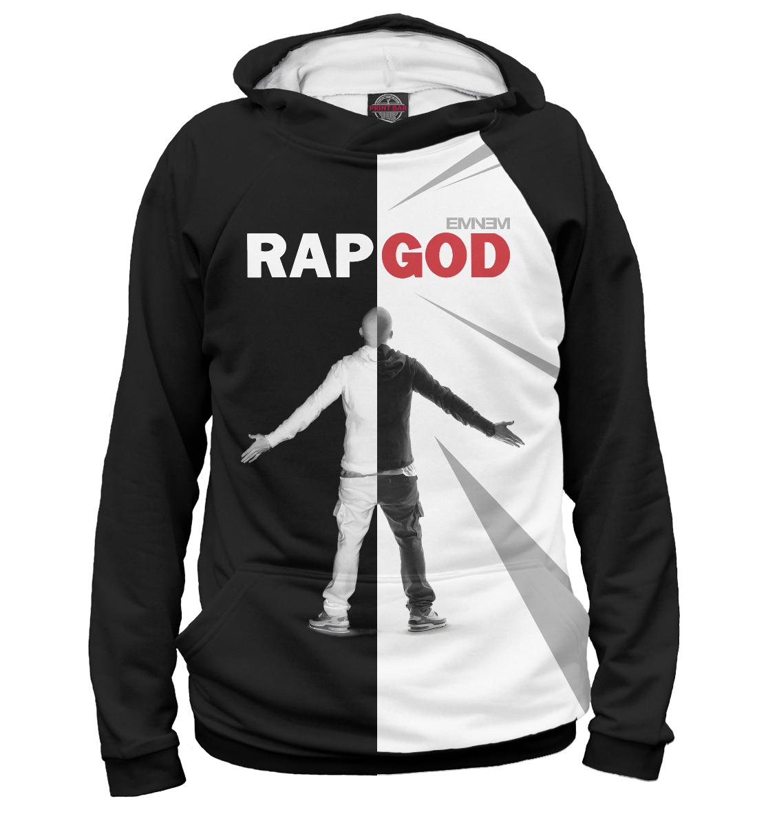 Rap God Eminem, Printbar, Худи, EMI-111334-hud-1  - купить со скидкой