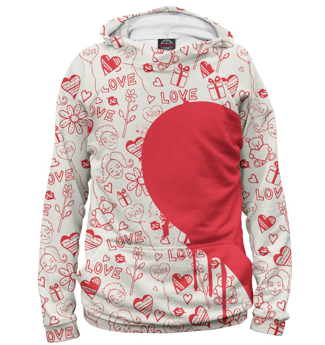 Купить Половинки сердца, Printbar, Худи, 14F-872918-hud-2