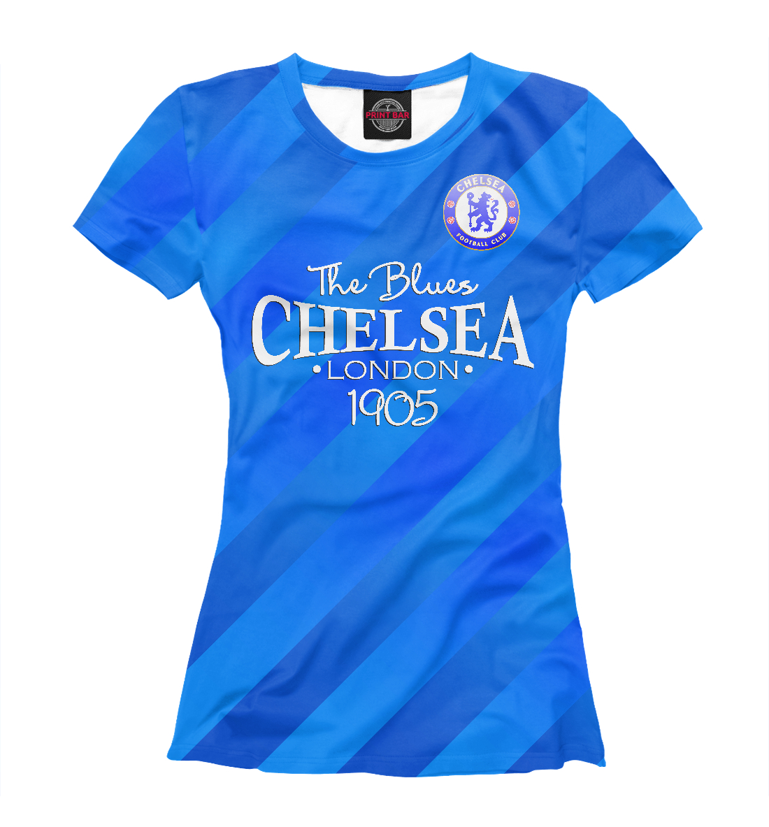 Купить Chelsea-The Blues, Printbar, Футболки, CHL-983514-fut-1