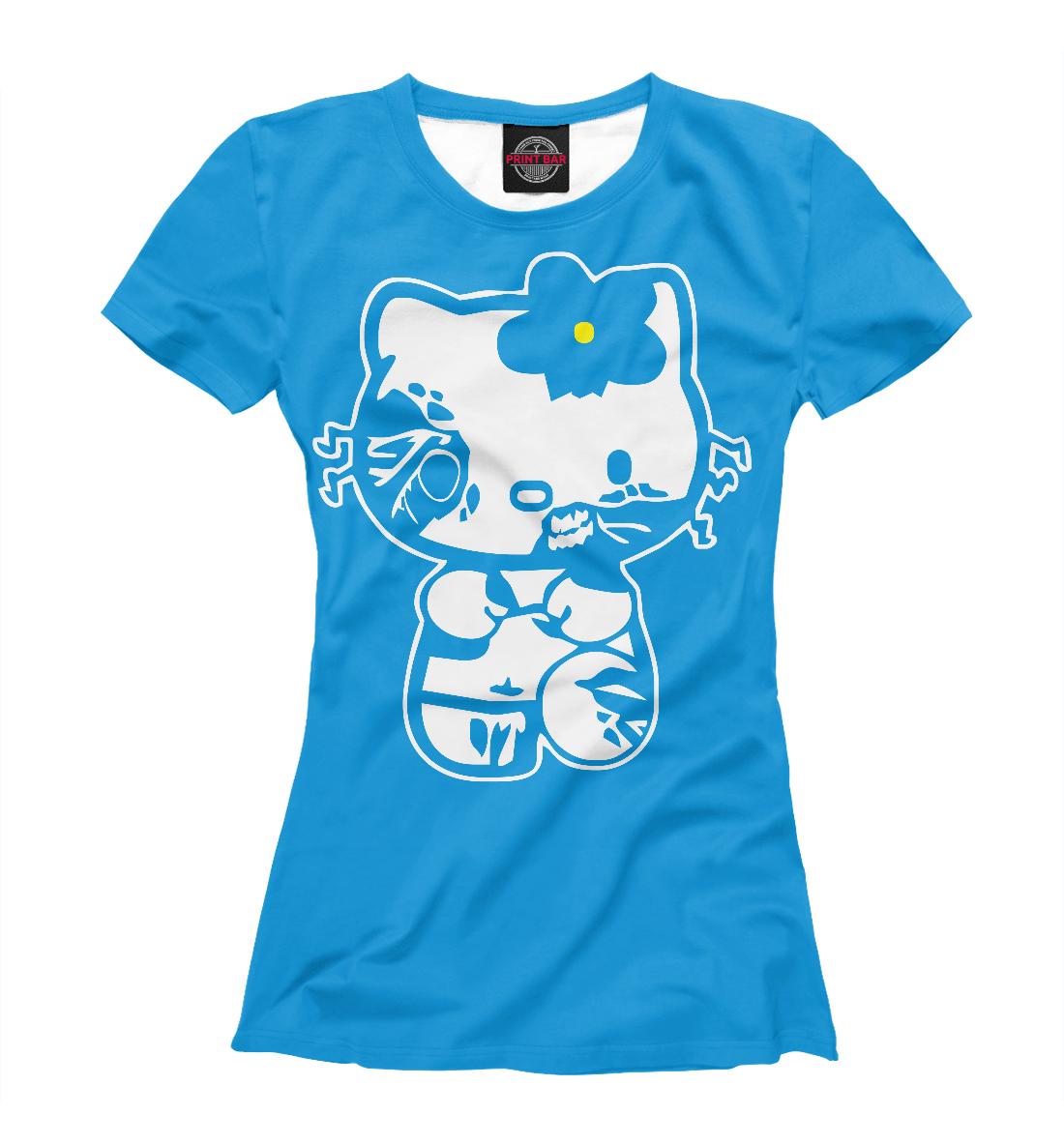 Купить Zombie Kitty, Printbar, Футболки, APD-986140-fut-1
