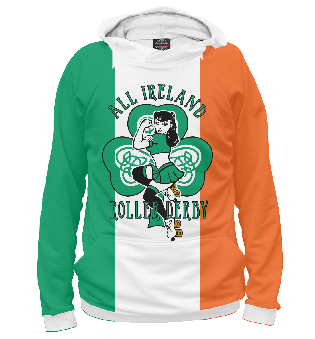 Ирландия, Roller Derby printio сумка roller derby