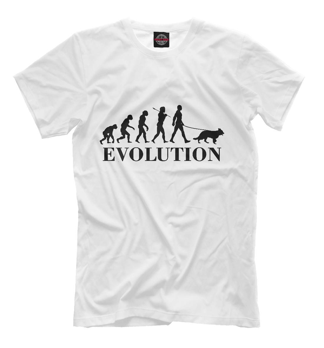 Купить Эволюция Собачника, Printbar, Футболки, DOG-956733-fut-2