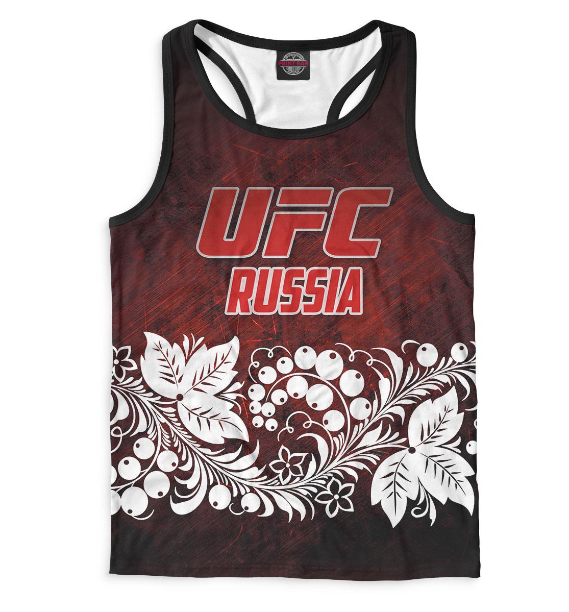 Купить UFC Russia, Printbar, Майки борцовки, MNU-613848-mayb-2