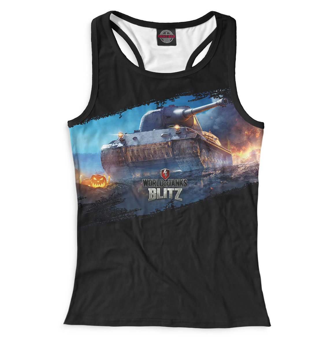Купить World of Tanks Blitz, Printbar, Майки борцовки, WOT-231878-mayb-1
