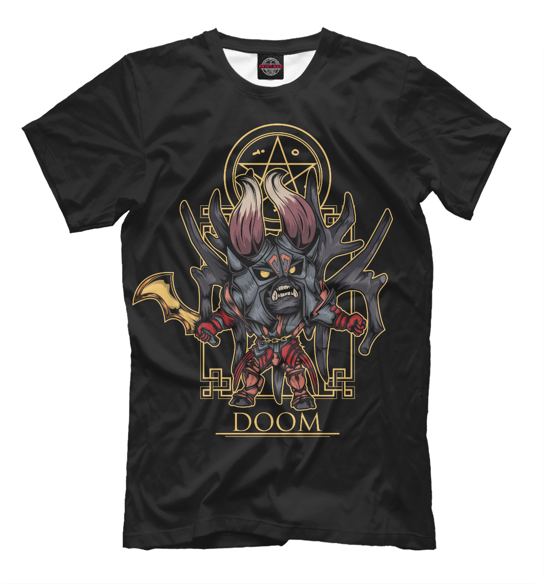 Купить Doom Dota 2, Printbar, Футболки, DO2-104813-fut-2