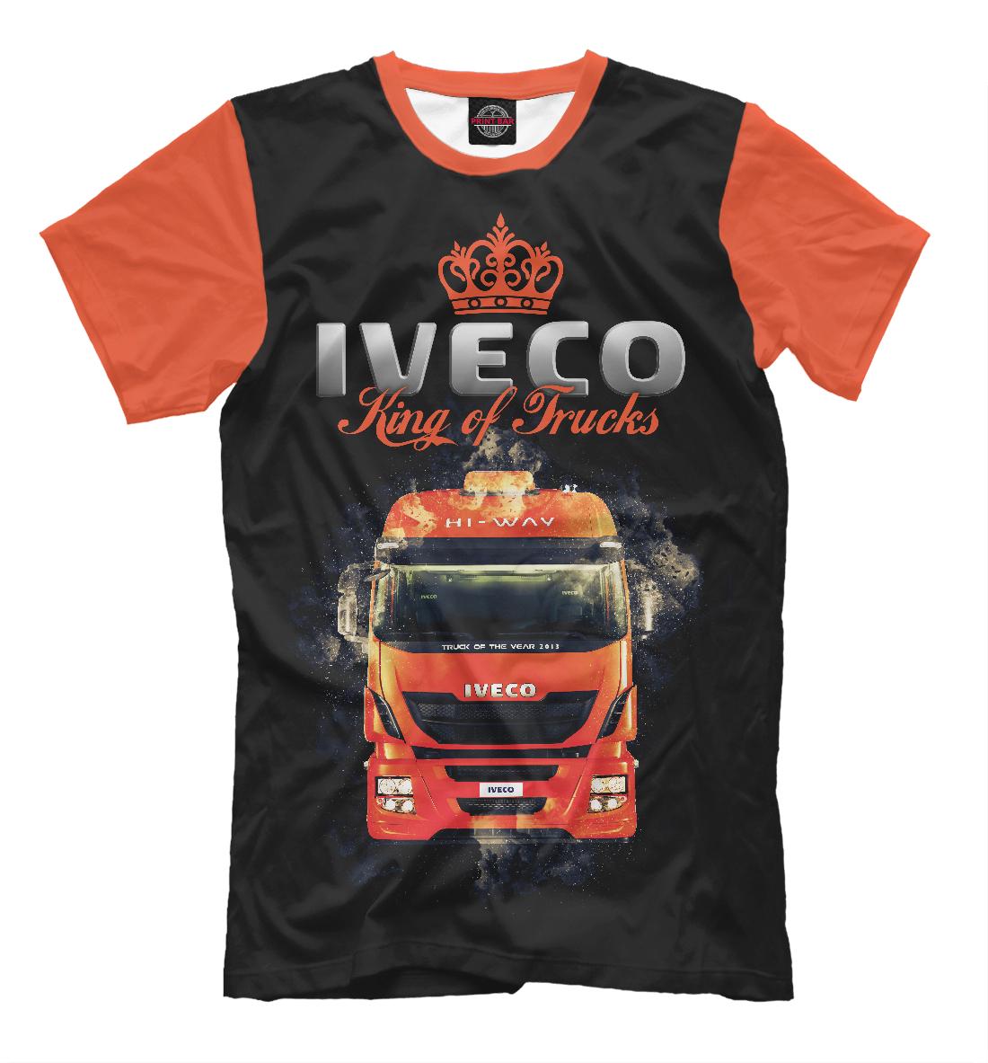 Купить IVECO - король грузовиков, Printbar, Футболки, GRZ-502294-fut-2