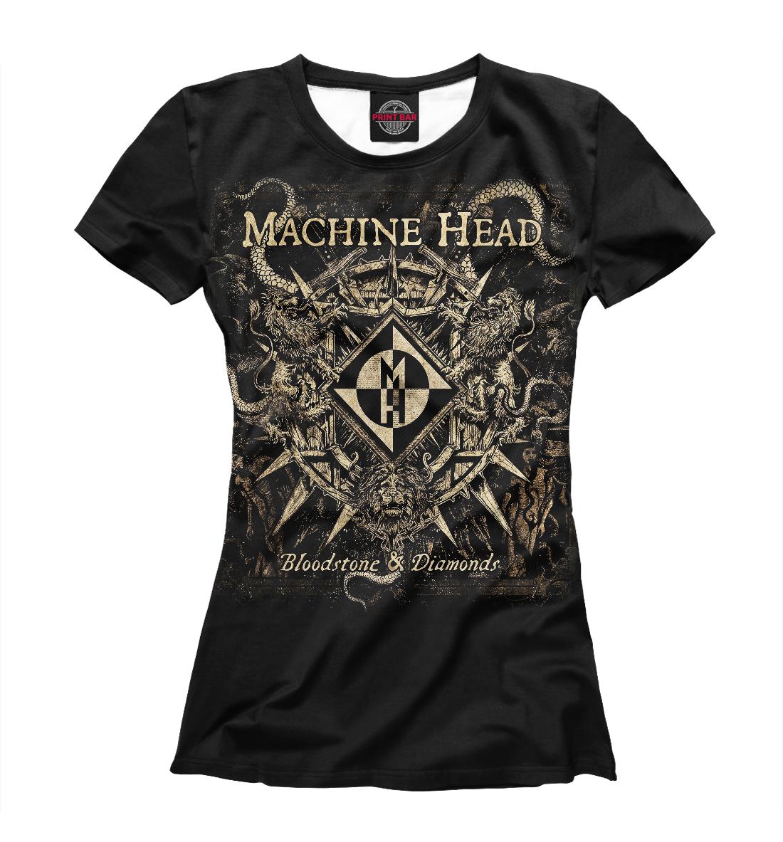 Купить Machine Head, Printbar, Футболки, MZK-477891-fut-1