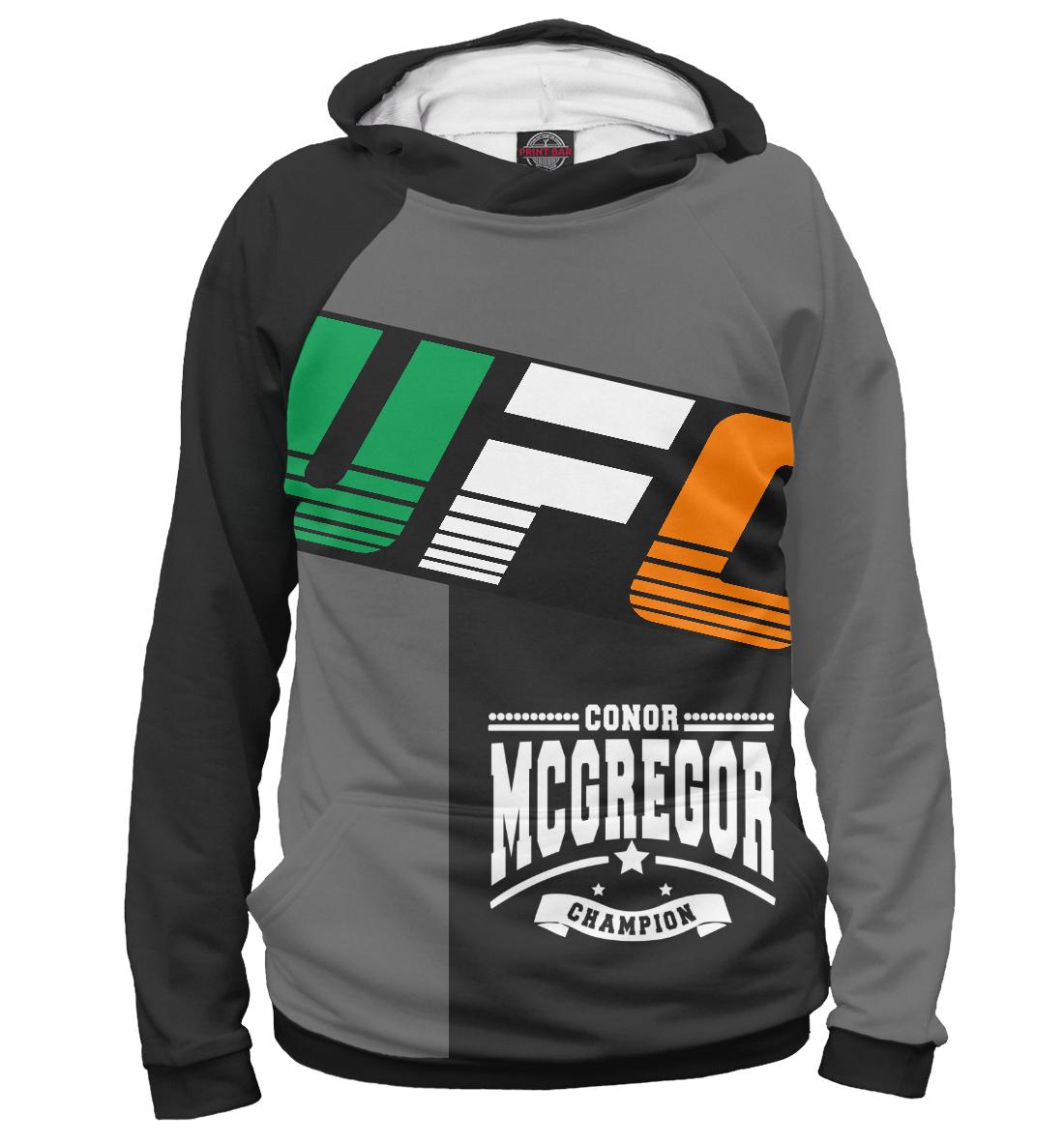 Купить UFC Конор МакГрегор, Printbar, Худи, MCG-272598-hud-1