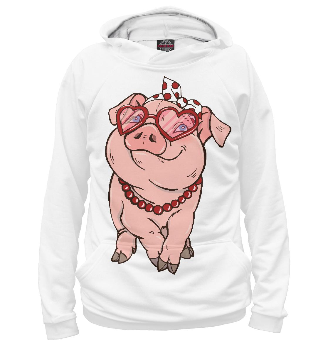 Купить Свинка модница, Printbar, Худи, ZIR-563551-hud-1
