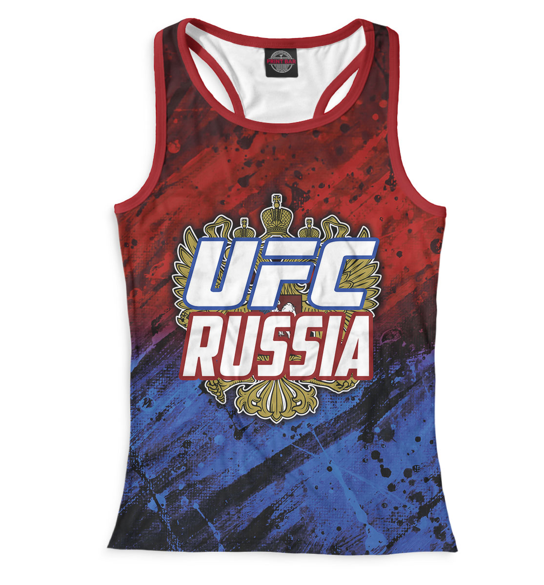 Купить UFC Russia, Printbar, Майки борцовки, MNU-281580-mayb-1