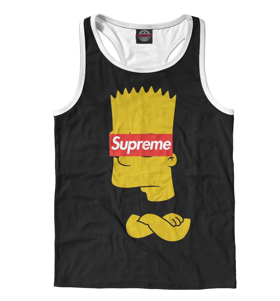 Купить Supreme Simpsons, Printbar, Майки борцовки, SPR-402256-mayb-2
