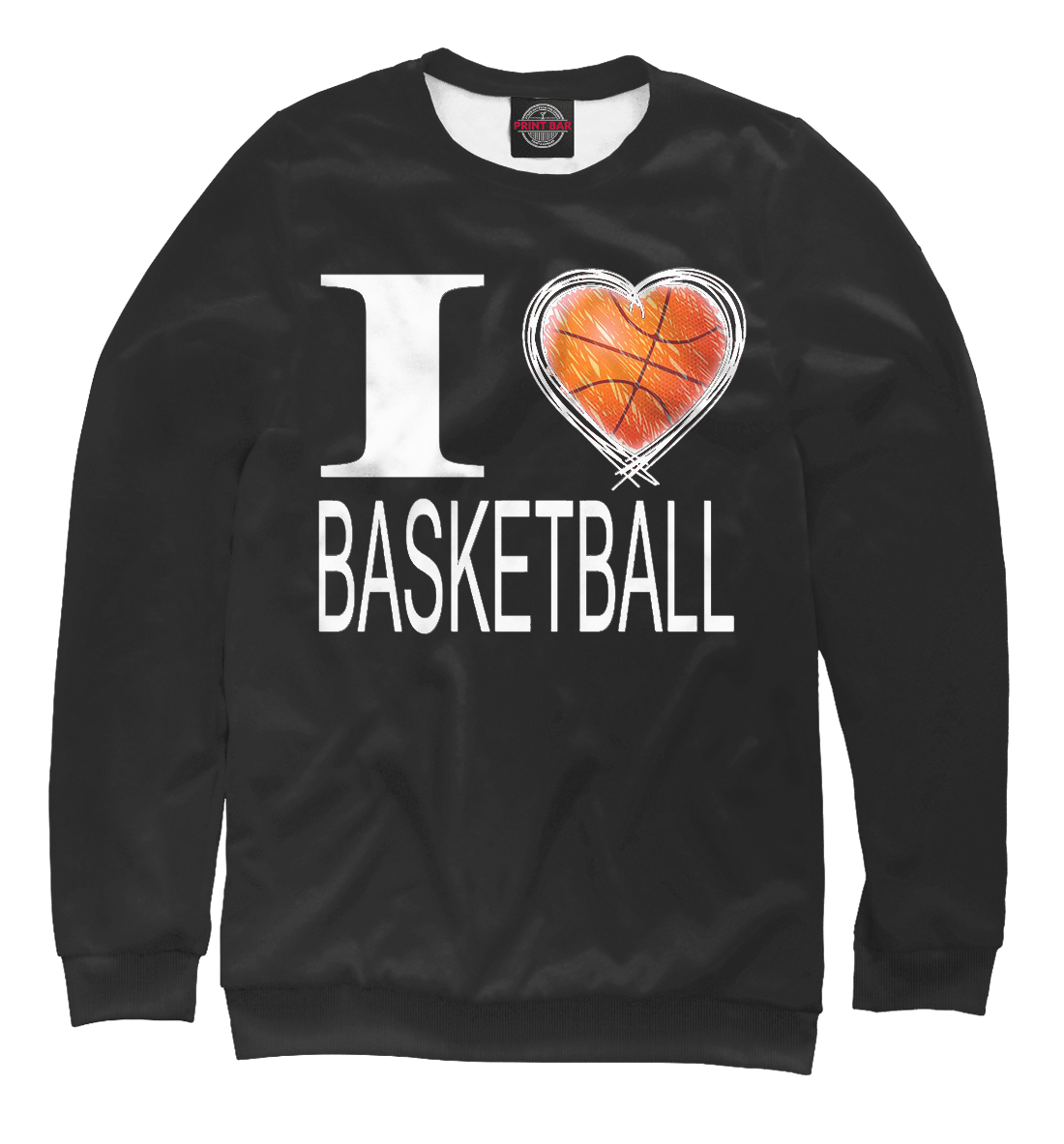 I Love Basketball Black