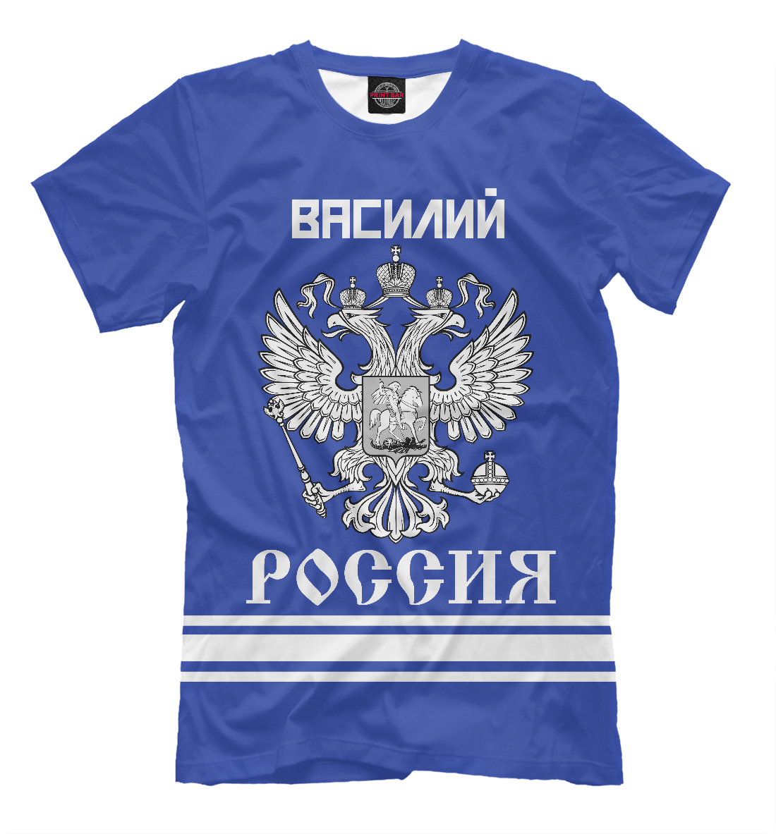 Купить ВАСИЛИЙ sport russia collection, Printbar, Футболки, VSL-869320-fut-2
