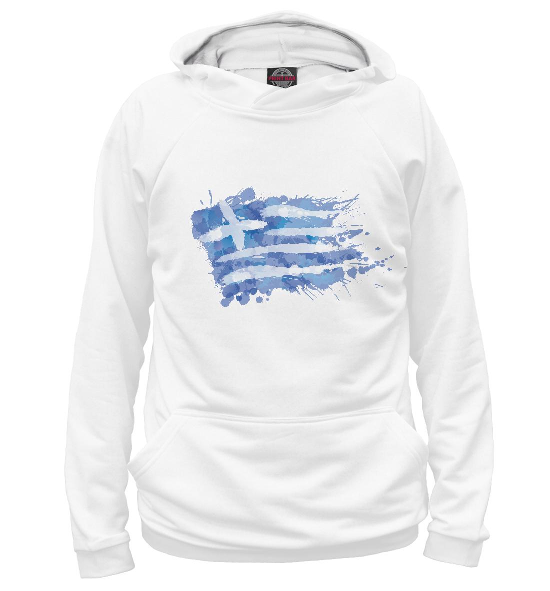 Купить Греческий флаг Splash, Printbar, Худи, CTS-862090-hud-1