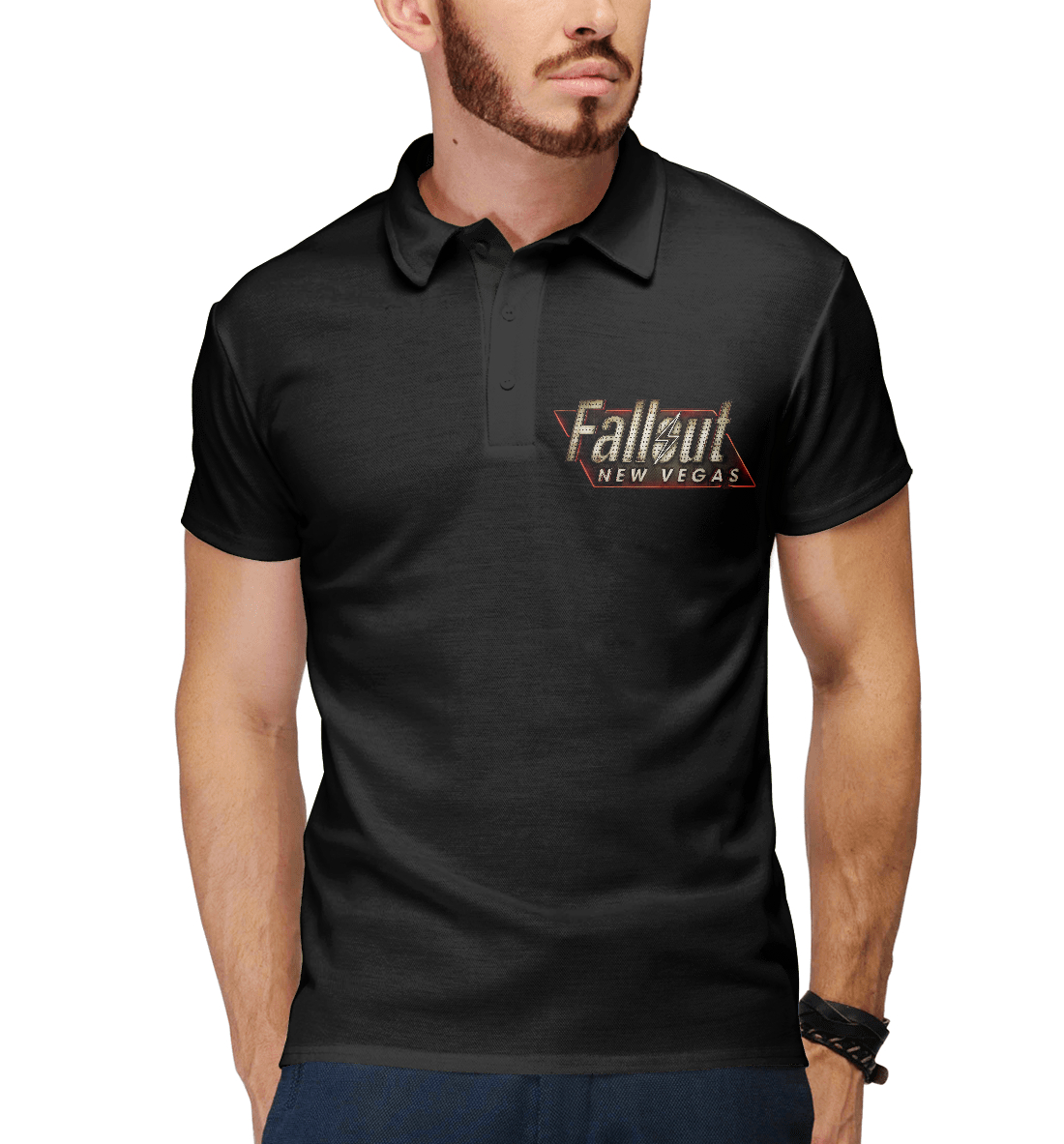 Купить Fallout New Vegas, Printbar, Поло, FOT-192399-pol-2