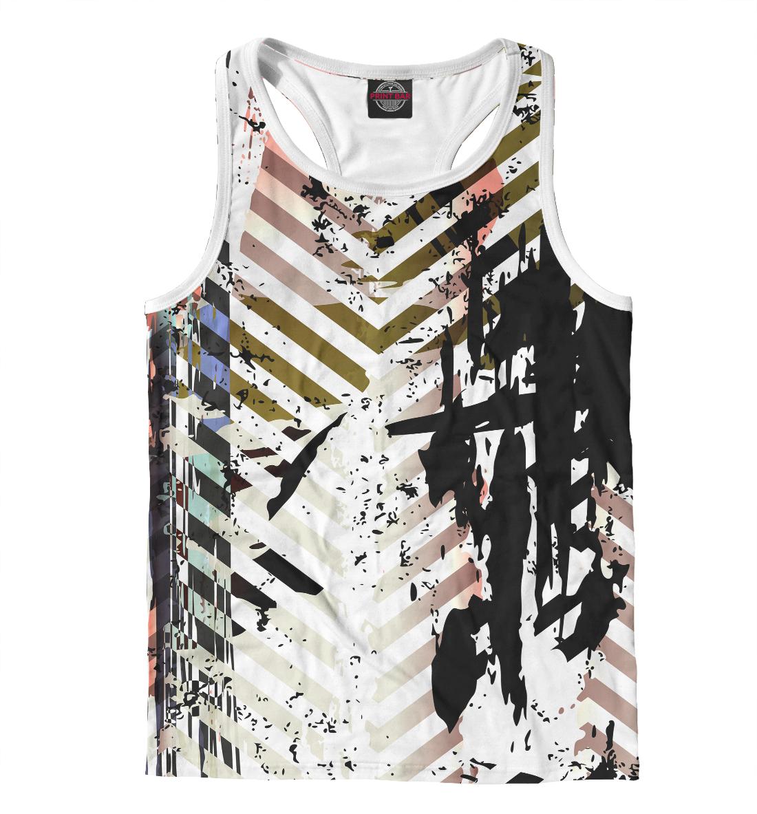 Купить Fashion geometry, Printbar, Майки борцовки, APD-893641-mayb-2
