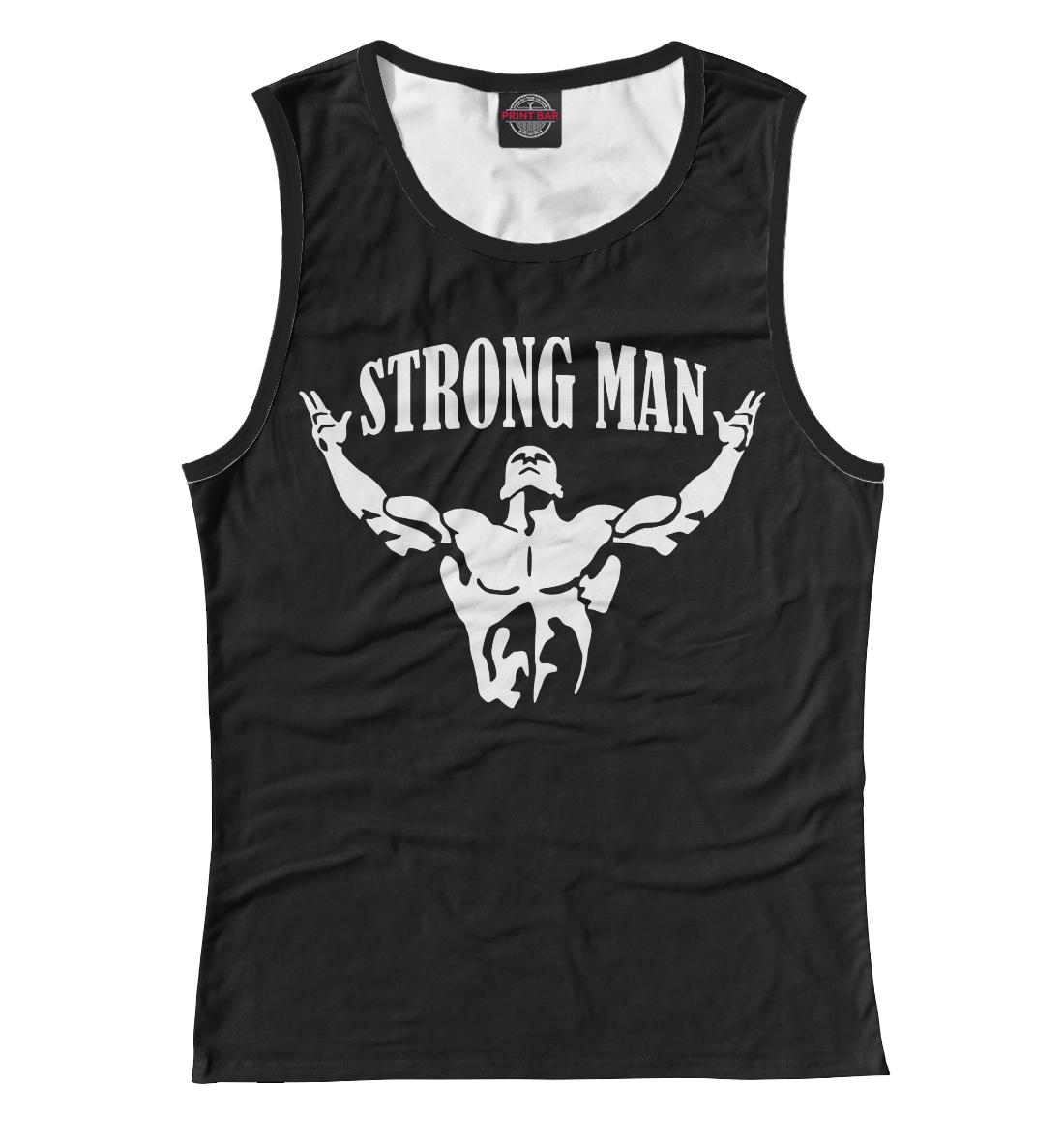Strong man, Printbar, Майки, PWL-223974-may-1  - купить со скидкой