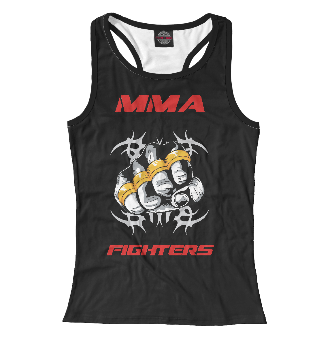 Купить MMA fighters, Printbar, Майки борцовки, MNU-179221-mayb-1