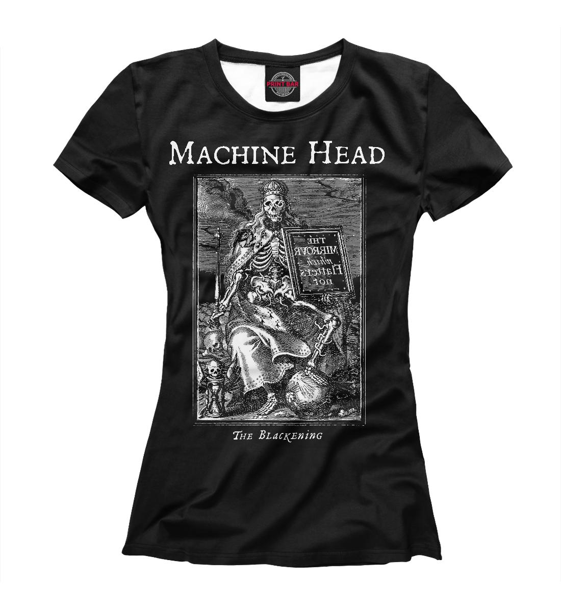 Купить Machine Head, Printbar, Футболки, MZK-354049-fut-1
