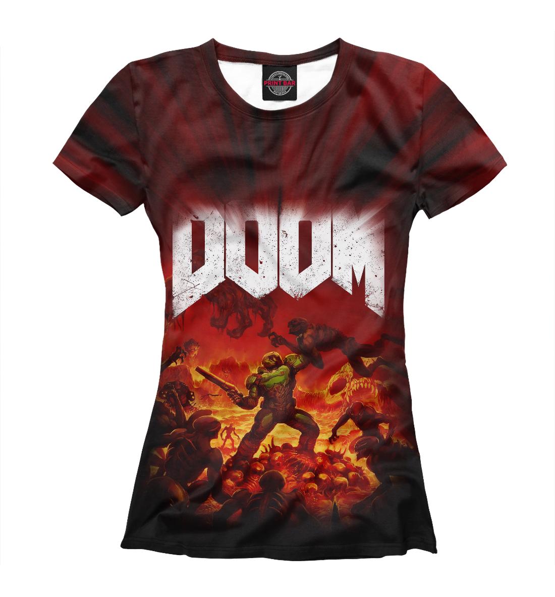 Купить Doom 2016, Printbar, Футболки, RPG-380416-fut-1
