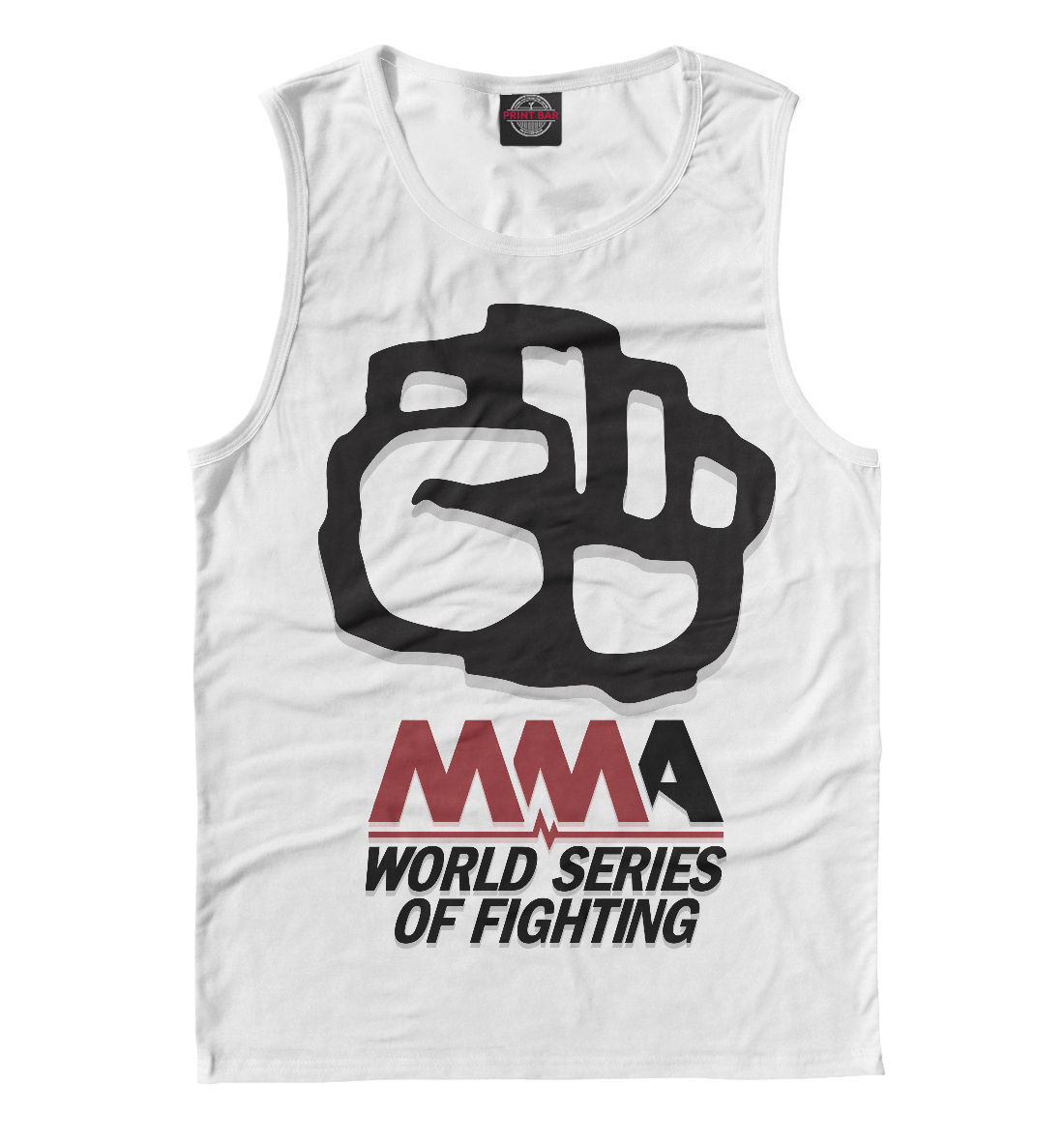 Купить MMA World Series Of Fighting, Printbar, Майки, MNU-538040-may-2