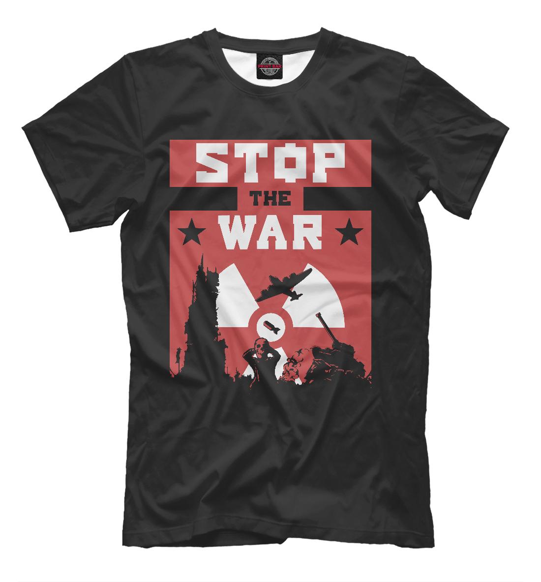 Купить Stop the War, Printbar, Футболки, NDP-190474-fut-2