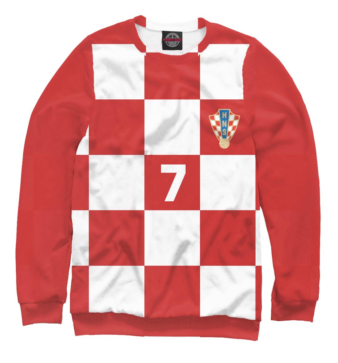 Купить Ракитич Хорватия 7, Printbar, Свитшоты, FTF-372473-swi-2