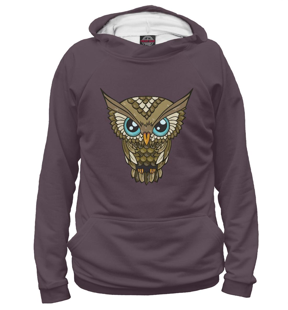 Купить Сова OWL, Printbar, Худи, PTI-582437-hud-2