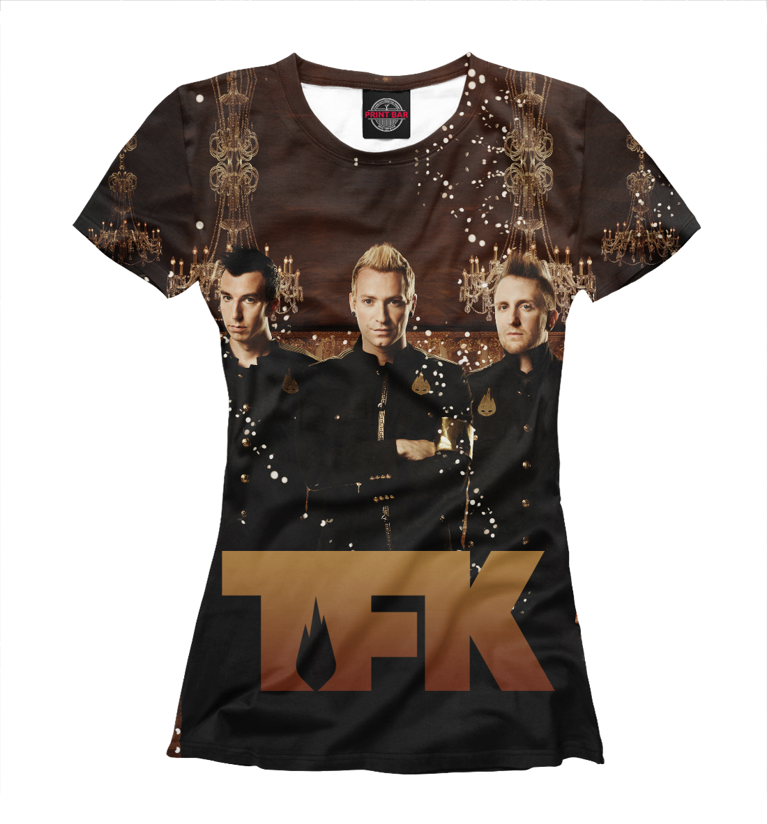 Купить Thousand Foot Krutch, Printbar, Футболки, APD-771584-fut-1