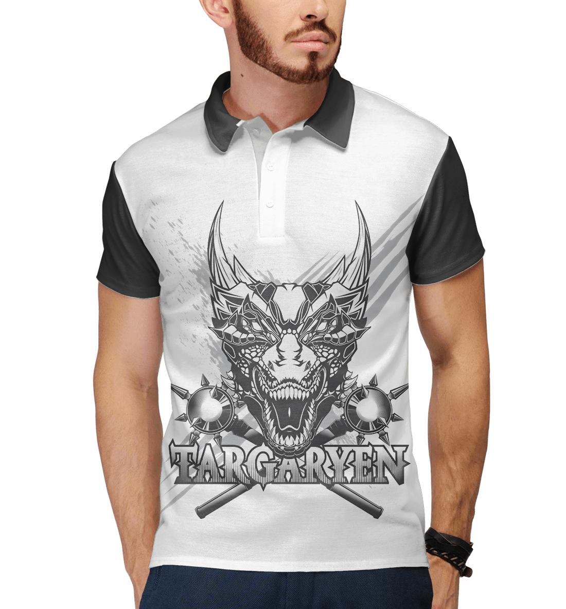 Купить Game of Thrones targaryen, Printbar, Поло, IGR-916372-pol-2