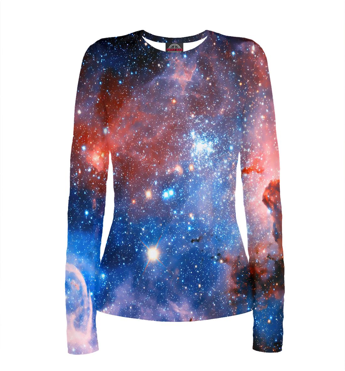 Купить Вселенная, Printbar, Лонгсливы, SPA-628619-lon-1