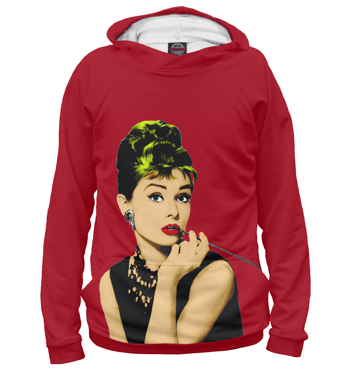 Купить Одри Хепберн, Printbar, Худи, POP-902421-hud-1