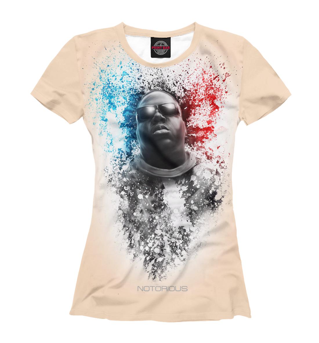 Купить The Notorious B.I.G., Printbar, Футболки, MZK-898431-fut-1