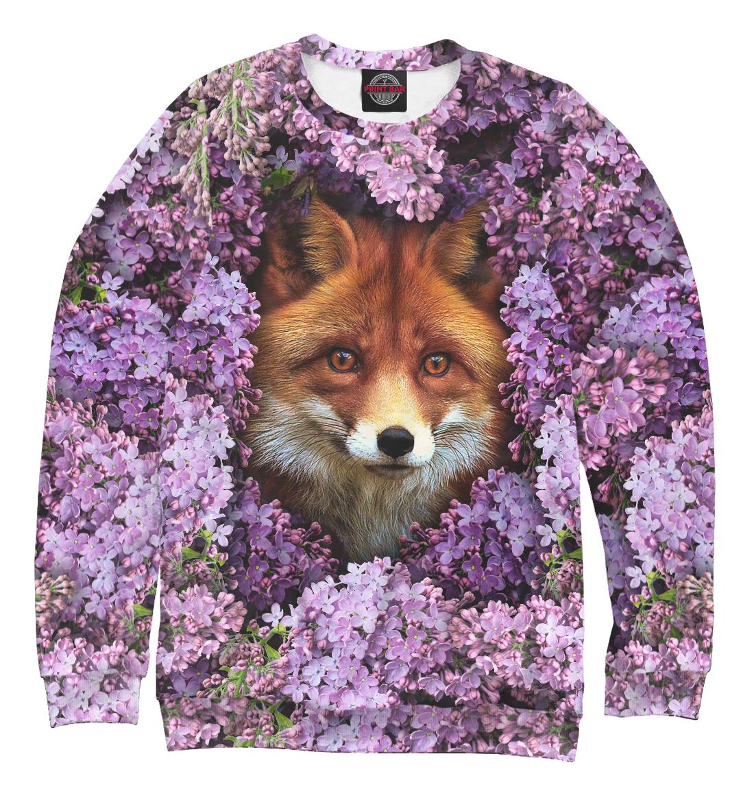 Купить Лиса в цветах, Printbar, Свитшоты, FOX-283158-swi-2