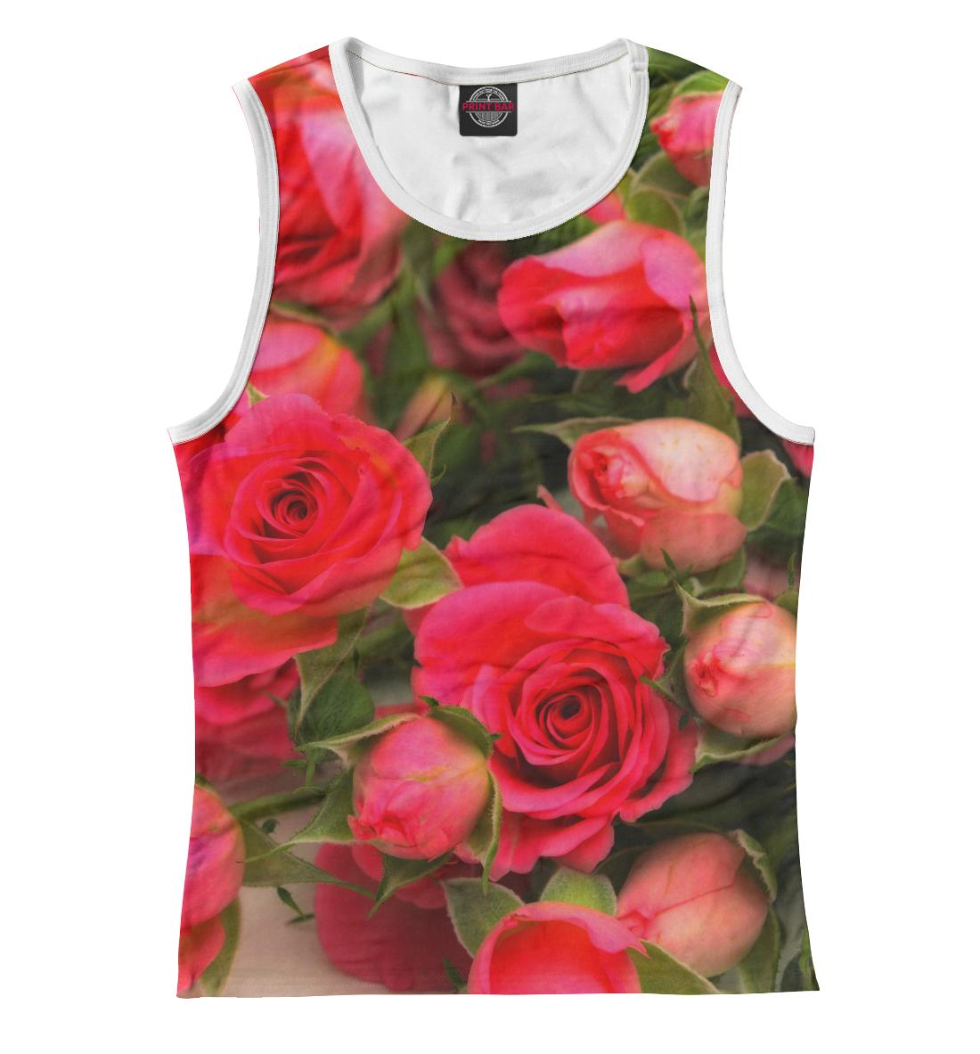 Купить Розы, Printbar, Майки, CVE-107058-may-1