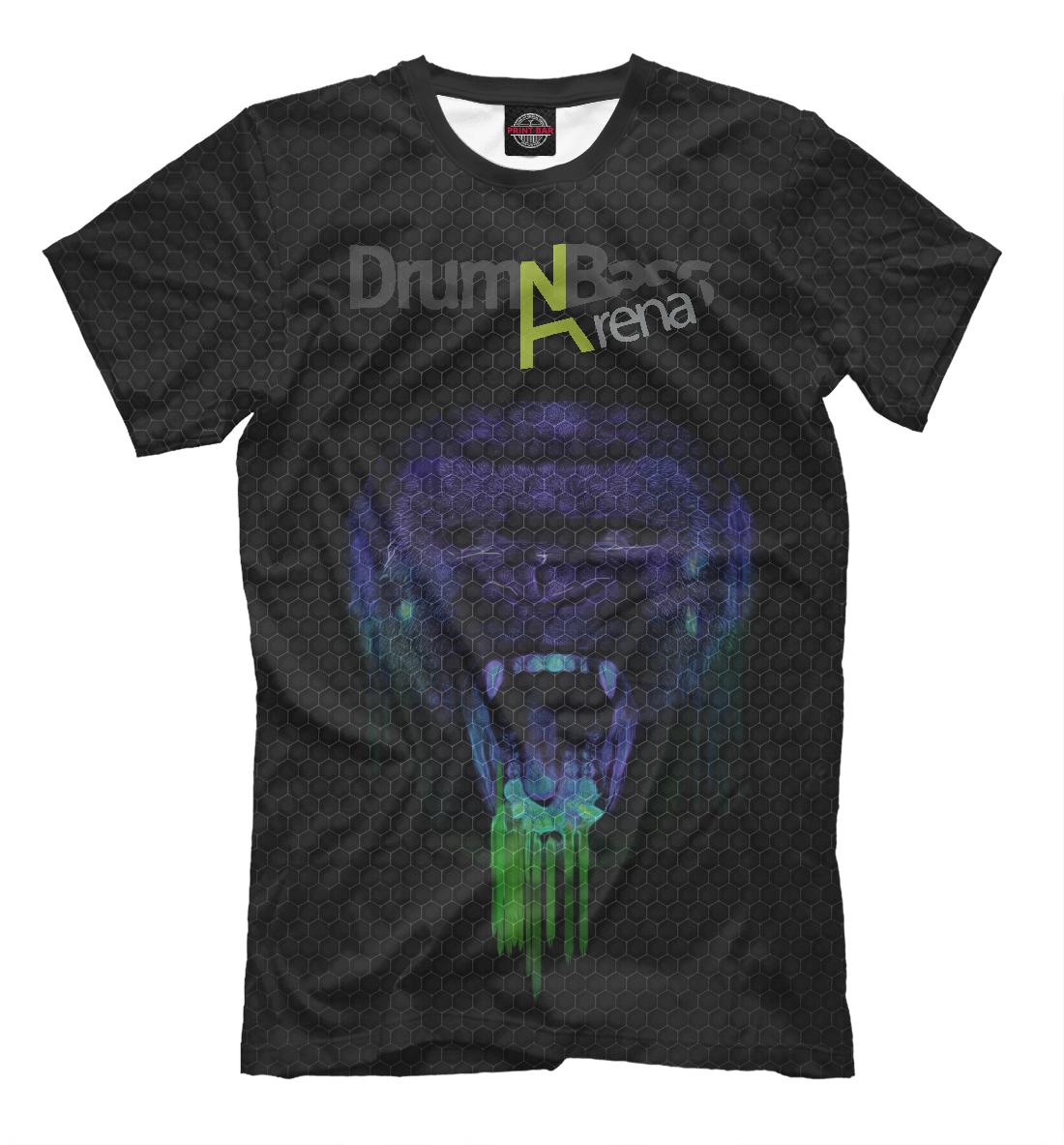 Купить Drum'n'Bass Arena, Printbar, Футболки, MZK-711721-fut-2