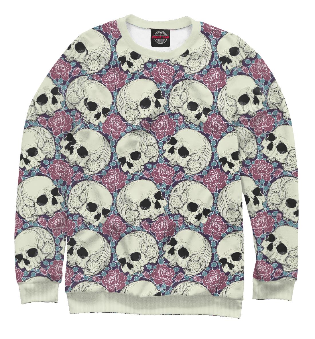 Купить Skull Garden, Printbar, Свитшоты, SKU-985908-swi-2