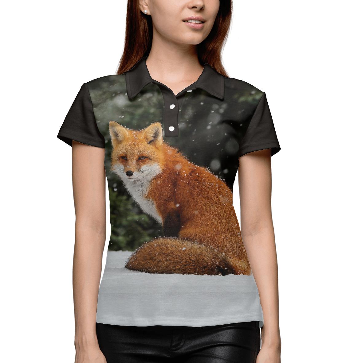 Купить Лиса, Printbar, Поло, FOX-855439-pol-1