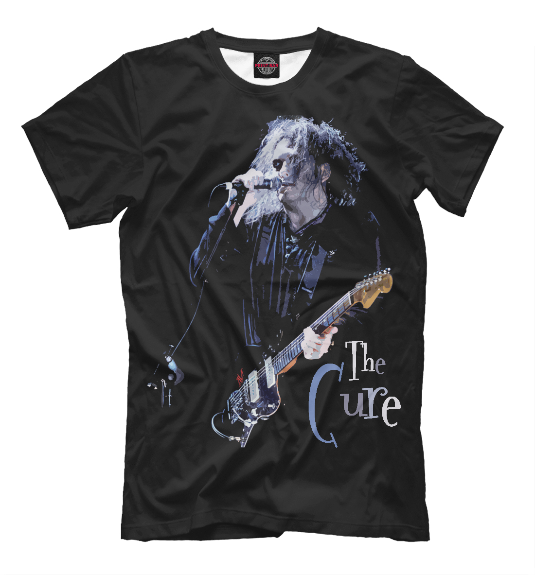 Купить THE CURE. ROBERT SMITH, Printbar, Футболки, THC-250212-fut-2