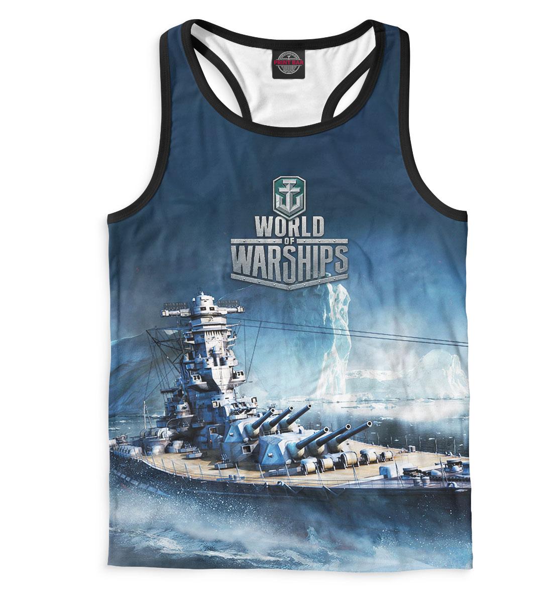 Купить World of Warships, Printbar, Майки борцовки, WOS-967739-mayb-2