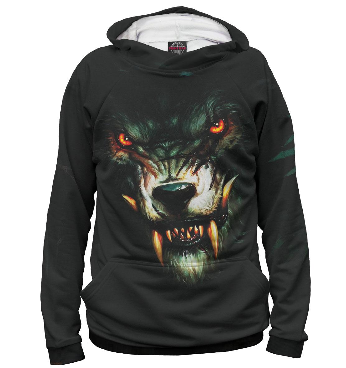 Купить Волк, Printbar, Худи, VLF-925446-hud-2