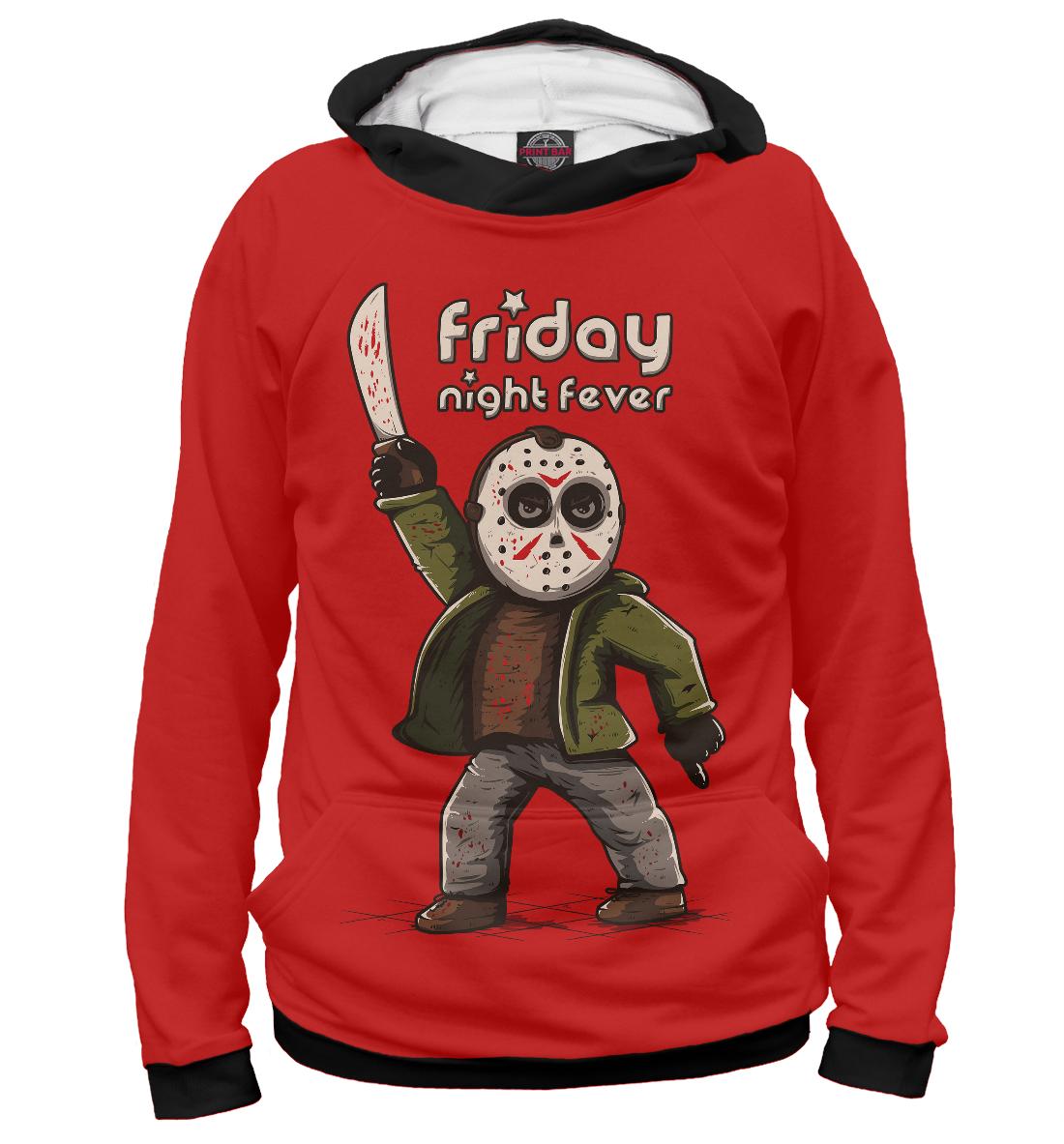 Купить Friday Night Fever, Printbar, Худи, HAL-933780-hud-2