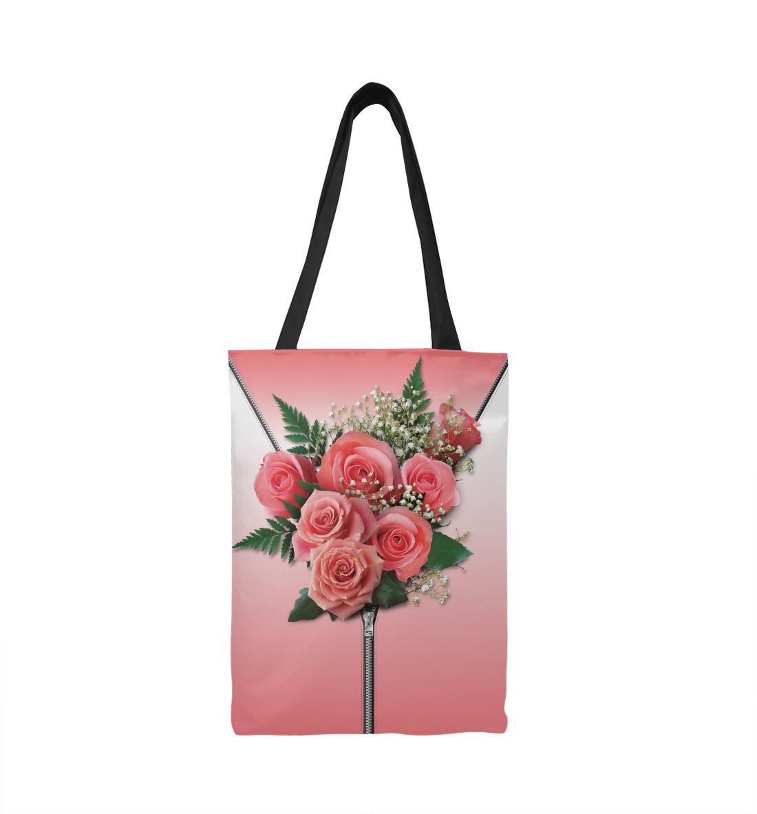 Букет за пазухой (розовый) розовый букет