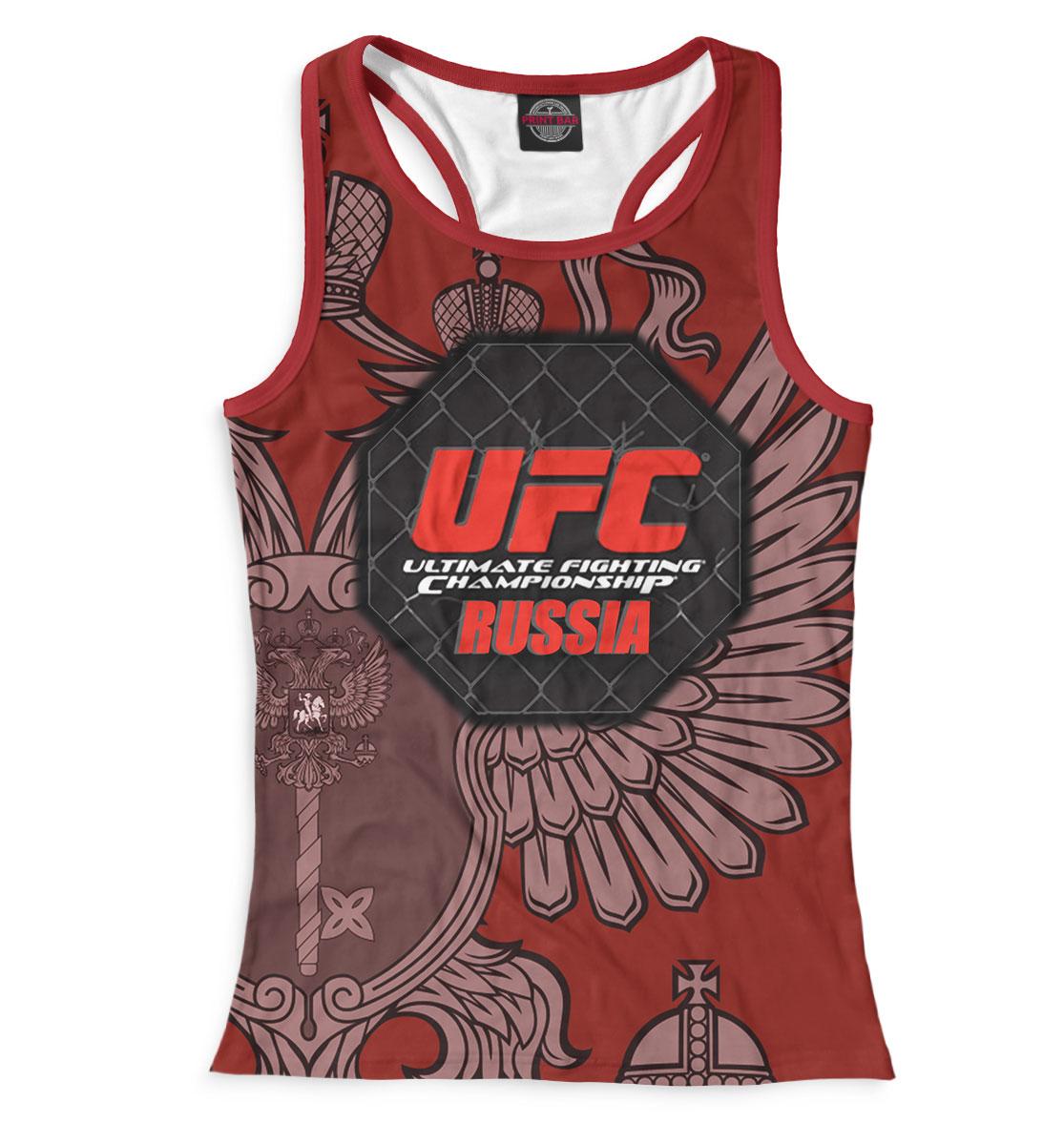 Купить UFC Russia, Printbar, Майки борцовки, MNU-890729-mayb-1
